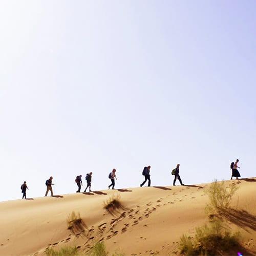 Wüstenexerzitien